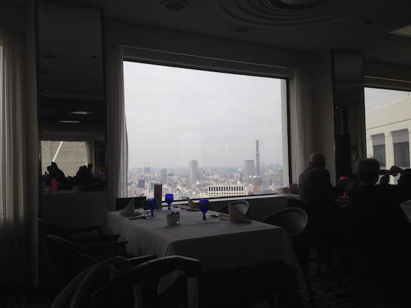 タワー・ビュッフェの景色