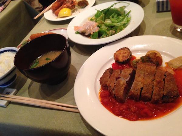 洋食katsuiビフカツ