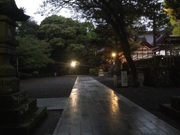 鹿児島神宮 パワースポット