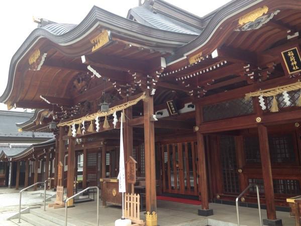東京パワースポット 諏訪神社