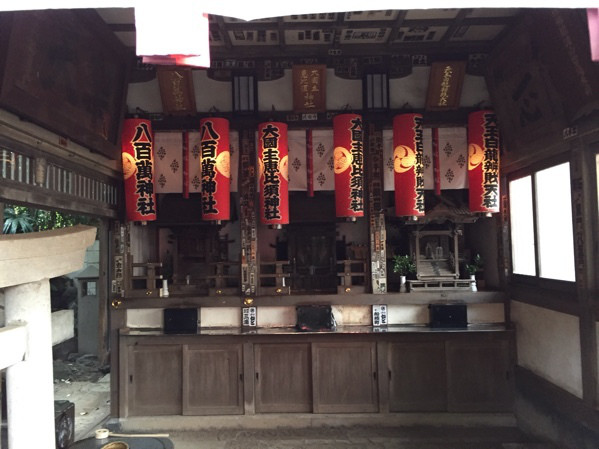 パワースポット 品川神社