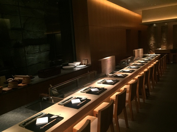ホテルグランドハイアット東京お寿司 六緑