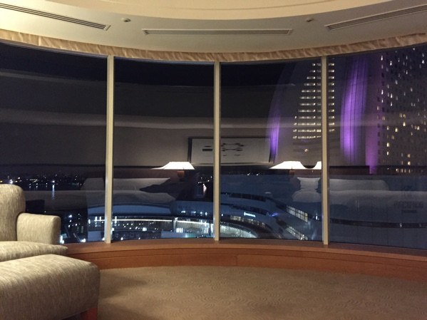 横浜ベイホテル東急 スイートルーム